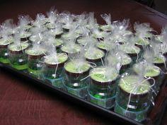 Mason Jar Wedding Favor Ideas | Craft with Confidence: Baby Food Jar Party Favor Tutorial