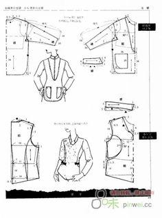 Modní krejčovství: Košile,topy,halenky №6