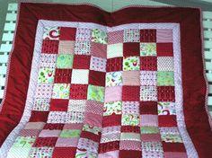 Mädchenpatchworkdecke  von Meine bunte Flickenecke auf DaWanda.com