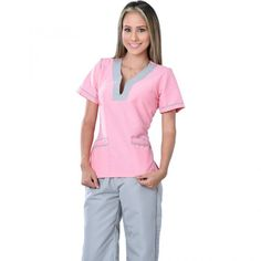 Spa Uniform, Scrubs Uniform, Dental Uniforms, Beauty Uniforms, Beautiful Nurse, Scrubs Outfit, Womens Scrubs, Medical Scrubs, Costume