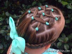 Kız çocukları için alışılmışın dışında saç modelleri ilginizi çekebilir. 10 farklı saç modelinden beğendiğiniz saç modelini kızınızın saçına uygulayabilirsiniz.