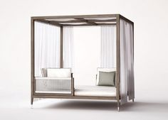 http://ow.ly/s0Ynl Italian Amalfi Gazebo from Smania, Luxury Teak-wood Patio Furniture