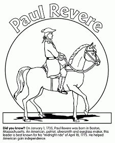 Paul Revere Third Grade GA Heroes Resources FREEBIE History