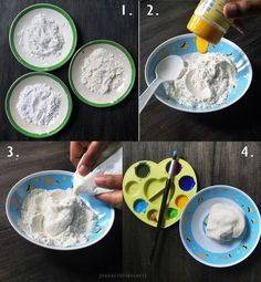 cara membuat diy clay sendiri Clay Dolls, Diy Clay, Some Fun, Diy And Crafts, Tableware, Ethnic Recipes, Food, Meditation, Dinnerware