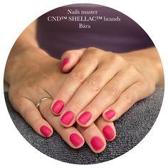 Cnd Shellac, Nails, Finger Nails, Ongles, Nail, Manicures