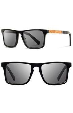 ae09b46261 Shwood  Govy  52mm Polarized Wood Sunglasses