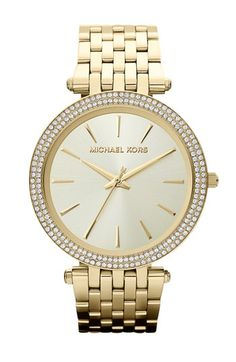 Michael Kors 'Darcy' Round Bracelet Watch, 39mm available at #Nordstrom