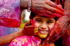 Let the colors of Holi spread the message of peace and happiness. Good Night Greetings, Indian Boy, Hindu Festivals, Holi, Image, Happiness, Colors, Life, Products