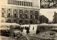 Historia Urbana de Madrid: Estampas. Madrid en Guerra. La nevada del 38