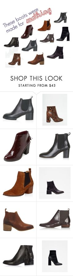 """""""WINTER BOOTS"""" by leblogderosy on Polyvore featuring Topshop, ASOS, Zara, Office and River Island"""