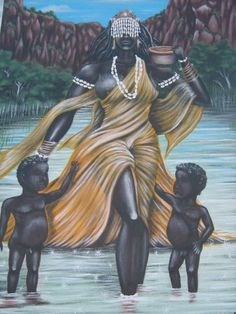 Ochun, in the Yoruba religion, is an Orisha who reigns over love, intimacy, beauty, wealth and diplomacy.