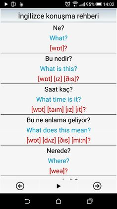 This Pin was discovered by ÜMM English Lessons, Learn English, Turkish Lessons, Learn Turkish Language, Travel And Leisure, English Language, Notes, Learning, Biology