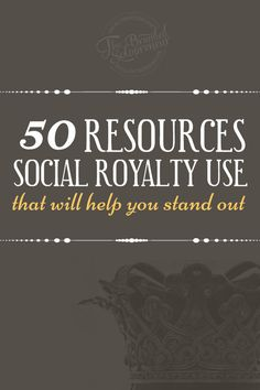 50 Free & Affordable {under $25} Resources The Pros Use That Will Help You Stand Out Online And Garner That 'Getting Noticed' Status You Desire