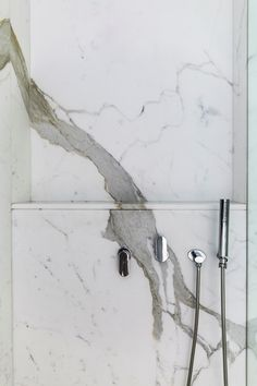 Calacatta Shower Niche Detail