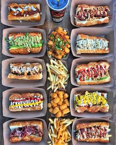 Eat gourmet hot dogs at Dog Haus, as it continues its expansion throughout San Diego County with the opening of Dog Haus Biergarten in Vista, California on October This marks the third San D Gourmet Hot Dogs, Hot Dog Restaurants, Hot Dog Toppings, Food Porn, Hot Dog Recipes, Le Diner, Food Platters, Food Trends, Food Cravings