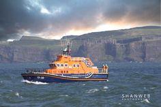 RNLI off the County Antrim Coast, Northern Ireland