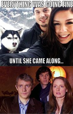 Bahahahah, the accuracy of this astounds me! Sherlock *IS* an angry Husky!