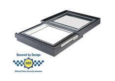 Secured by design sliding rooflight. Self supporting electric Part Q compliant enhanced high security sliding rooflight by Duplus. Roof Light, Design, Design Comics