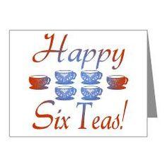 60th Birthday Party Invitations Covers (Pk of 10)> 60th Birthday Gifts, Happy 6 Teas!> MEGA-CELEBRATIONS
