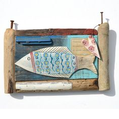 Big Fish - Driftwood Art Shirley Vauvelle  - CoastalHome.co.uk: Driftwood