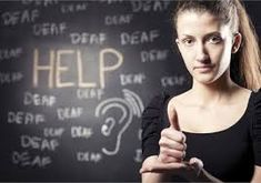 you can more efficiently communicate with someone who has hearing loss with an interpreter. and interpreter may be useful in important situations such as business meetings