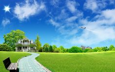 beautiful pictures of nature scenery | house-Beautiful natural