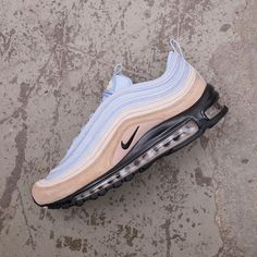 the latest a6c28 5d8bf Nike Air Max 97 Premium - 312834-203 •• Blue sky and dessert sand, what  more do you need  Available at www.footish.se •• Link in bio ••  nike ...