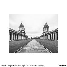 The Old Royal Naval College, Greenwich, England Gallery Wrap Canvas