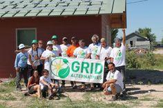 GRID Alternatives and TWP Solar PV Training - Pine Ridge, SD