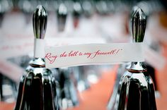 ring the bell to say farewell via calder clark designs blog