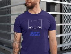This design will add some fun to your wardrobe or it might make the perfect gift! Gaming Apparel, Classic, Funny, Gift, Mens Tops, T Shirt, Design, Fashion, Derby