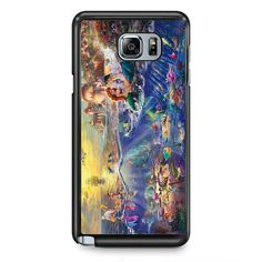 Disney Ariel The Little Mermaid TATUM-3290 Samsung Phonecase Cover Samsung Galaxy Note 2 Note 3 Note 4 Note 5 Note Edge