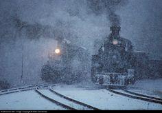 CTS 497 Cumbres & Toltec Scenic Railroad Steam 2-8-2 at Cumbres, Colorado