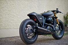 "Harley Street 750 ""Makku"" by Rajputana Custom Cycles"