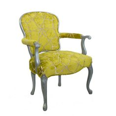 Velvet Chair, Chartreuse