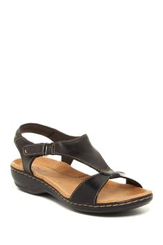 5790e561f Leisa Foliage Sandal - Wide Width Available by Clarks on  nordstrom rack  Comfortable Sandals