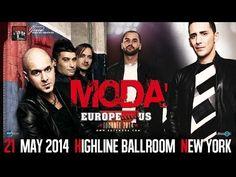 ▶ Modà Live in New York @ Highline Ballroom - May 21, 2014 - YouTube