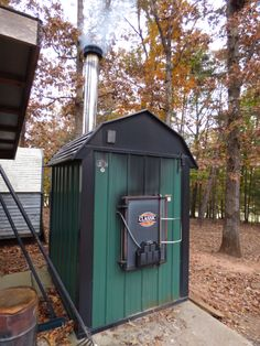 outdoor wood burning furnace what you need to know farm and