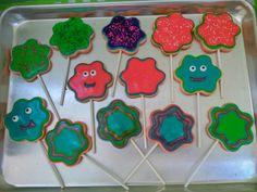 Galletas decoradas en glaseado