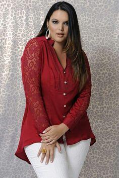 Outfit Rojo Con Blanco Para Mujeres Xtra Lindas