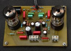Projekty lampowe - preamp RIAA Valve Amplifier, Vacuum Tube, Poker Table, Turntable, Audio, Circuits, Gadgets, Record Player