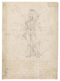 Possibly after Leonardo Da VInci - Carlo Urbino (ca. 1510/20–after 1585) Codex Huygens, fol. 15 Codex Huygens, fol. 15   fol. 15   The Morgan Library & Museum