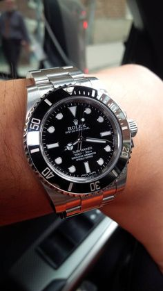 Rolex Oyster Perpetual Submariner Ceramic In Stainless Steel Circa 2013