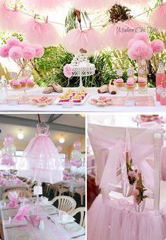 παρτυ για κοριτσια-μικρες μπαλαρινες-Γενέθλια Table Decorations, Dessert Tables, Party, Tutu, Home Decor, Winter, Birthday Cards, Fiesta Party, Ballet Skirt
