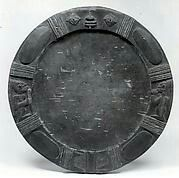 Opon Ifa: 19th-20th century used by Yoruba Babalawo to perform divinations. This one is carved out of wood.
