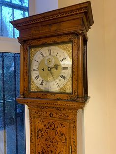 Antiques Atlas - Edward Crouch Of London Longcase Clock, Diy Envelope Liners, Antique Clocks, Antique Stores, Bird Cage, Vintage Cars, Restoration, Vintage Outfits, Art Deco, Antiques
