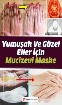 What to do for soft hands? Natural Mask Recipes for Soft Hands - Cilt Bakımı Health Motivation, Healthy, Soft Hands, Rezepte, Nice Asses, Nature