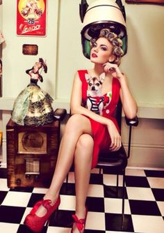Pin up. VINTAGE Style