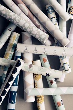 FERM LIVING - Wallpapers http://www.smallable.com/1163-ferm-living