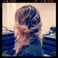 Stylizacja fryzury - salon Szymon Kaczmarzyk - http://skaczmarzyk.pl